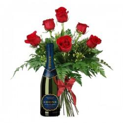 Pack 6 rosas de 1ª y Edoné