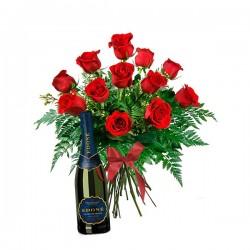 Pack 12 Rosas de 1ª y Edoné