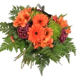 Bouquet Grande de fresias y gerbera