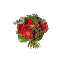 Bouque Gerbera y Rosas Pequeño