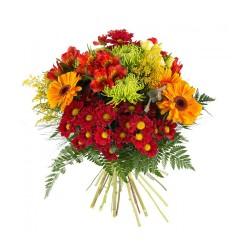 Ramo Mediano con Flores Variadas