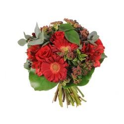 Bouque Gerbera y Rosas Mediano