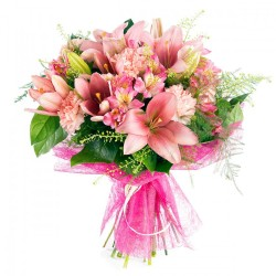 Ramo Grande variado color rosa