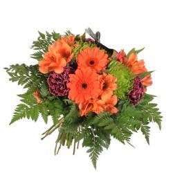 Bouquet Mediano de fresias y gerbera