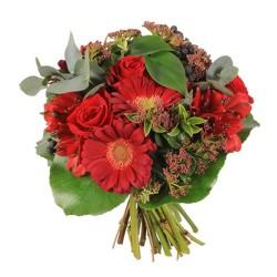 Bouque Gerbera y Rosas Grande