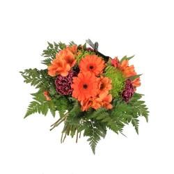 Bouquet Pequeño de fresias y gerbera